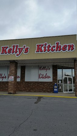 Outside view of Kellys Kitchen Rainsville Alabama