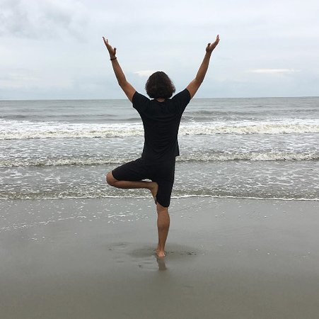 Folly Beach Island Yoga Teacher Matt Foley