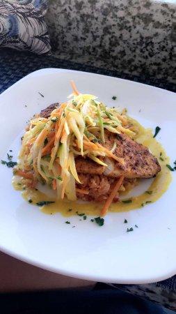 Madison, CT: Simply divine swordfish dinner at The Wharf