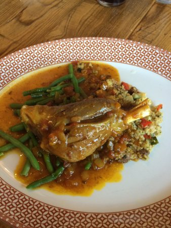 Widnes, UK: A lamb shank to be proud of!!