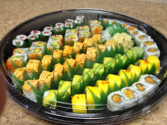 Surf City, NJ: Sushi Party Tray