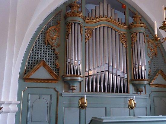 Nyhamnslage, Thụy Điển: Organ Pipes - Brunnby Church