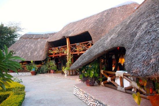 Lake Manyara National Park, Tanzania: The main building