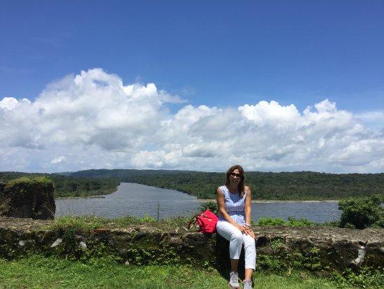 Fort San Lorenzo: Lindo paisaje!