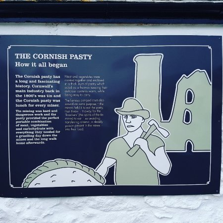 Sennen, UK: History of the Cornish pasty