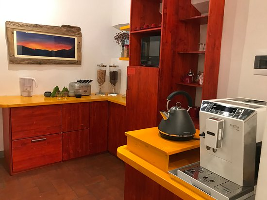 B&B Bonsignori: Kitchenette