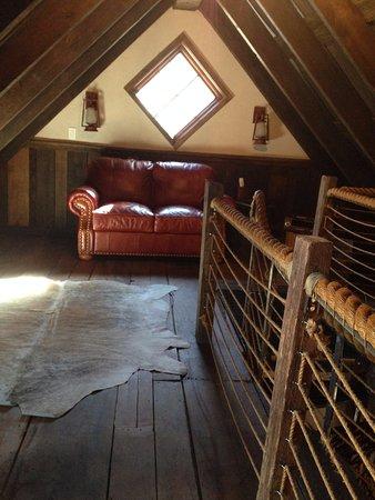 Winvian: Loft area