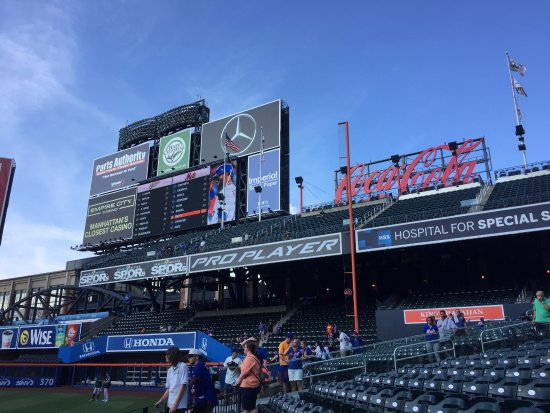 Flushing, État de New York : Citi Field Mets game