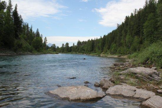 West Glacier, MT: Middle Fork, Flathead River