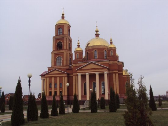 Temple in Honor of the New Martyrs and Confessors of Belgorod