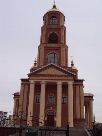 Stroitel, Russland: Храм в честь Новомучеников и исповедников Белгородских, город Строитель