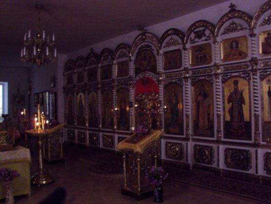 Stroitel, Russland: Нижний храм в честь Александра Невского