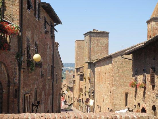 Certaldo, Italia: hoofdstraat