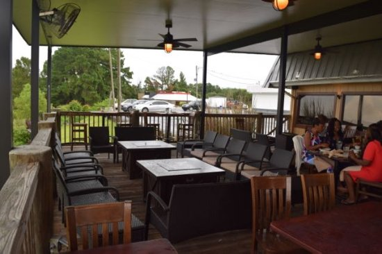 Daphne, AL: part of the outdoor seating