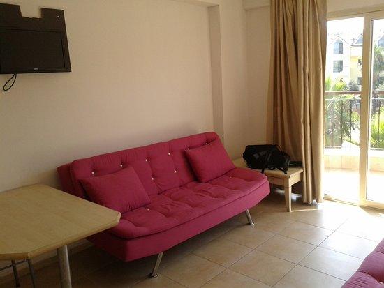 Comfortable Sofa For Sleeping   Picture Of Club Dena, Marmaris   TripAdvisor