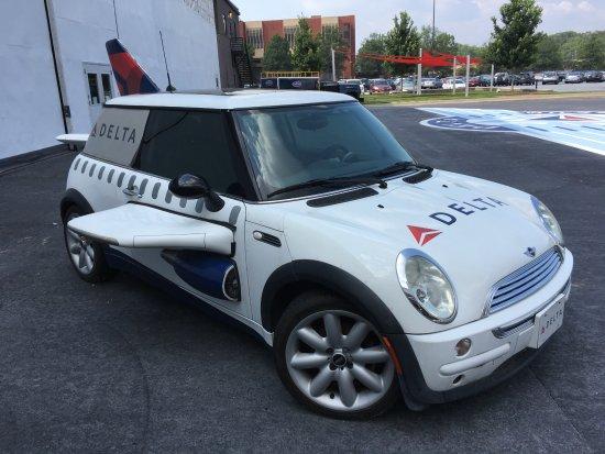 Mini Cooper Atlanta >> Delta Mini Cooper Outside The Flight Museum Picture Of