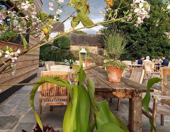 Bolton by Bowland, UK: Terrace