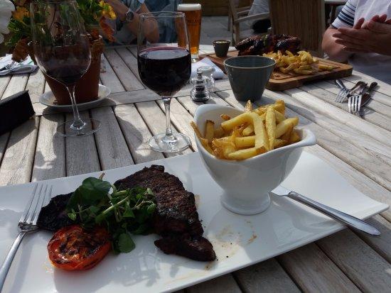 Bolton by Bowland, UK: Rump steak