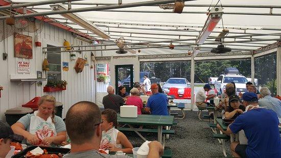 Trenton, Maine: patio