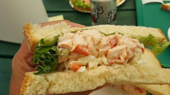 Trenton, Maine: lobster meat