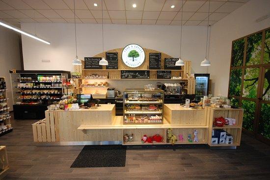 Louny, Czech Republic: Prodejní pult / Coffee & Bar