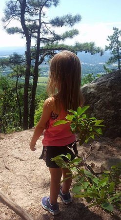Roanoke, VA: my 4 yr old hiked this mountain