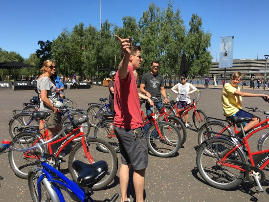 Fat Tire Bike Tours - London : Nick the guide