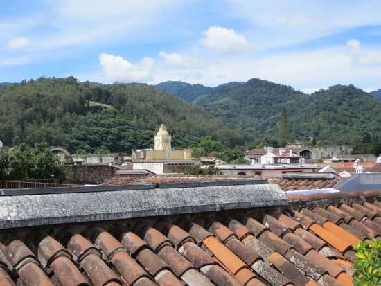 Hotel Meson de Maria: View from rooftop deck