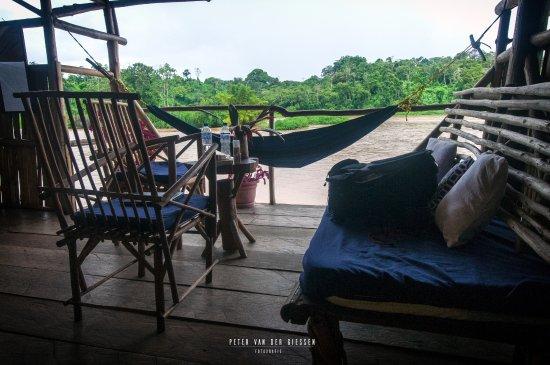 Boca Sabalos, Nicaragua: View at the river