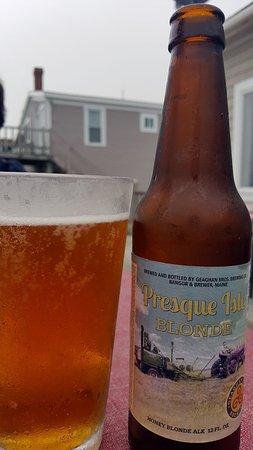 Frank's Dockside: local brew