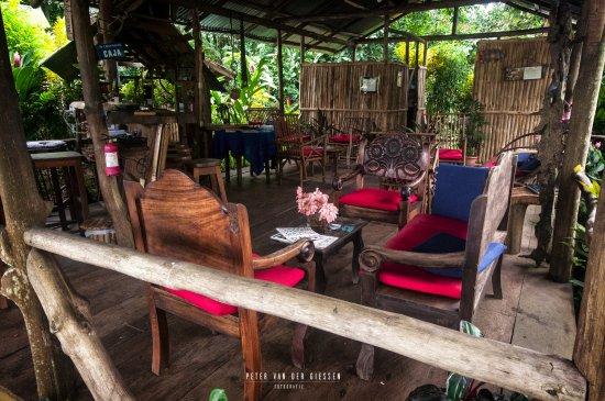Boca Sabalos, Nikaragua: Lounge room