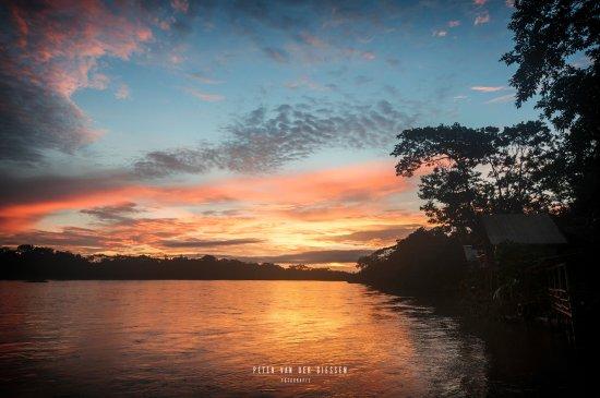 Boca Sabalos, Nicaragua: Sunset