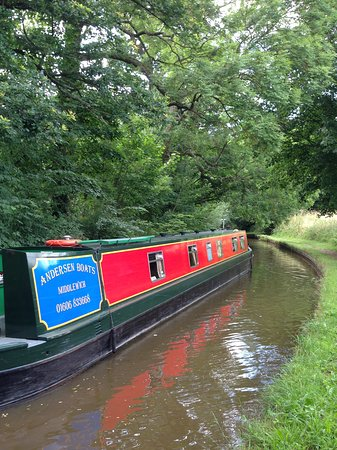 Middlewich, UK: Bend!