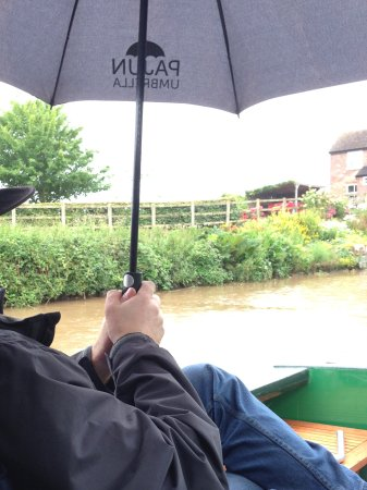 Middlewich, UK: Great, despite rain!