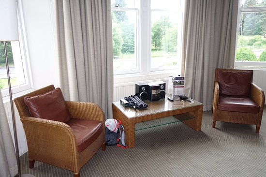 The Craiglynne Hotel: 'Glenfarclas' room - king room with garden view (room 128)