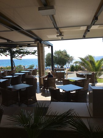 9 Muses Hotel Skala Beach: Dining Area