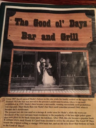 Good Ol Days Bar and Grill Picture
