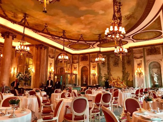 Hailed as one of the most beautiful dining rooms in the world...you ...