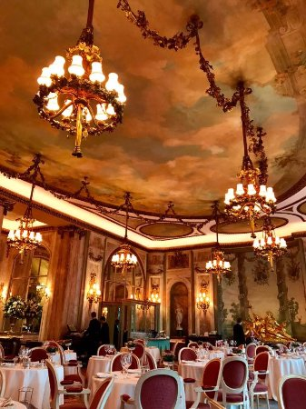 Hailed as one of the most beautiful dining rooms in the world ...