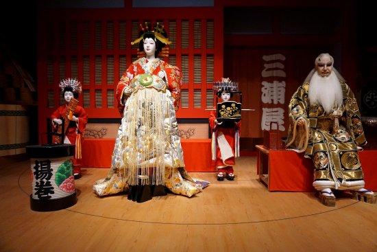 Edo Tokyo Museum A Scene From Kabuki Play