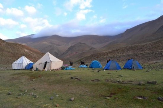 Imlil, Morocco: Camp in high atlas