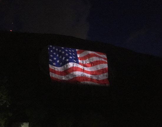 Lasershow Spectacular at Stone Mountain Park: Laser light show