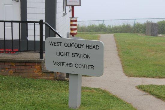 West Quoddy Head Light: nice visitor center