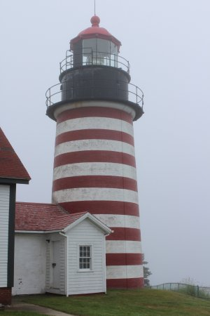 West Quoddy Head Light: needs to be painted