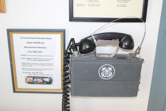 Lubec, ME: old marine phone