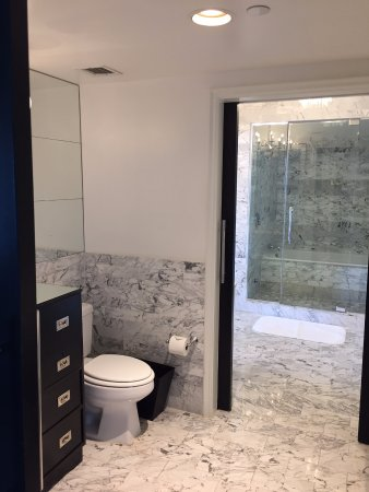 Viceroy Santa Monica: Large and spacious bathroom, with large walk-in shower