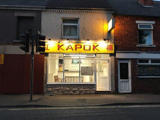 Sutton in Ashfield, UK: Kapok