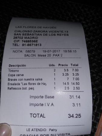 Restaurante las flores de haydee en san sebasti n de los for Restaurante italiano san sebastian de los reyes