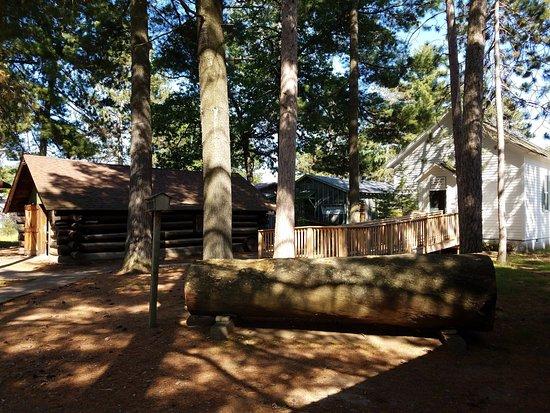 Rhinelander, WI: Lumber Camp Buildings