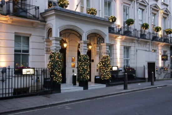 The Balmoral Hotel: Brown's Hotel, Dover Street entrance